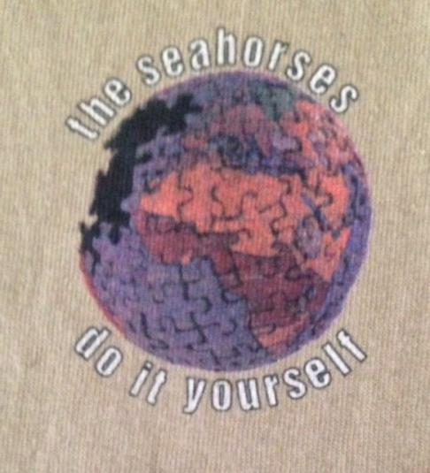 Vintage1997 The Seahorses T-Shirt Do It Yourself 90s L