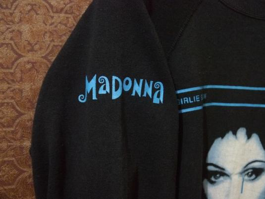 1993 MADONNA GIRLIE SHOW SWEATSHIRT