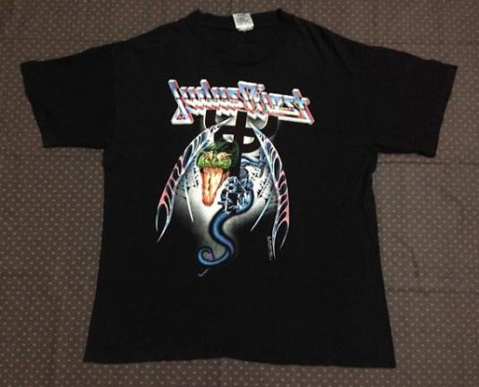 1990 JUDAS PRIEST Painkiller Tour T-Shirt
