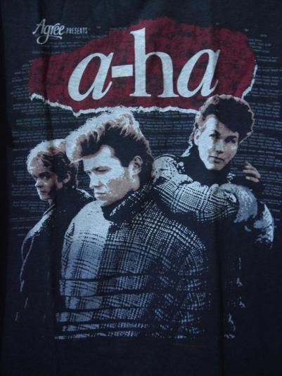 1986 A-HA T-Shirt