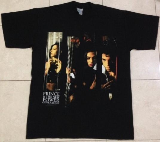 Vintage 1992 Prince and The New Power Generation T-Shirt NOS