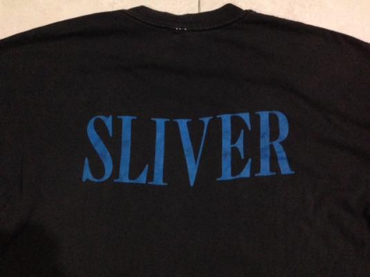 Vintage 90s Nirvana Sliver T-Shirt Sub Pop Kurt Cobain 1990
