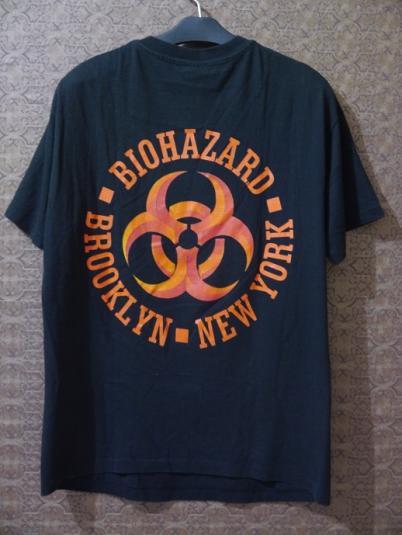 1992 BIOHAZARD Urban Discipline T-shirt