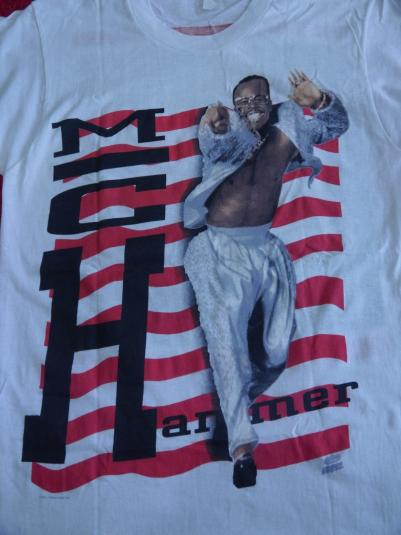 Vintage 1990s Mc Hammer Here Comes The Hammer T-Shirt