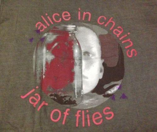 Vintage 1994 Alice In Chains Jar Of Flies T-Shirt