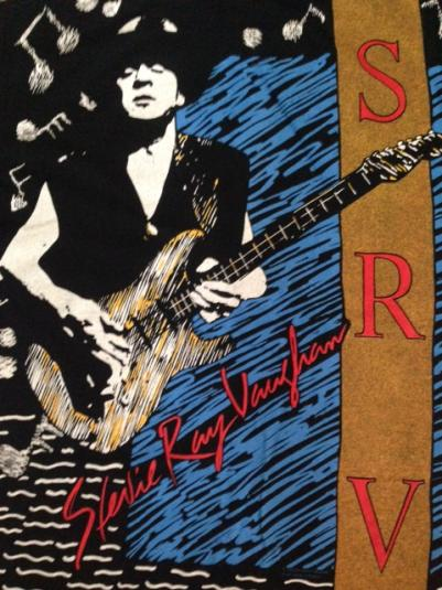 Vintage 1992 Stevie Ray Vaughan All Over T-Shirt Never Worn