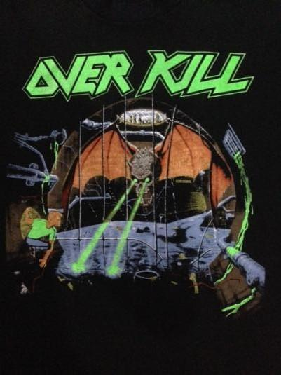 Vintage 1988 Over Kill Tour T-Shirt