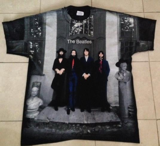 Vintage 90s The Beatles All Over T-Shirt Never Worn / Wash