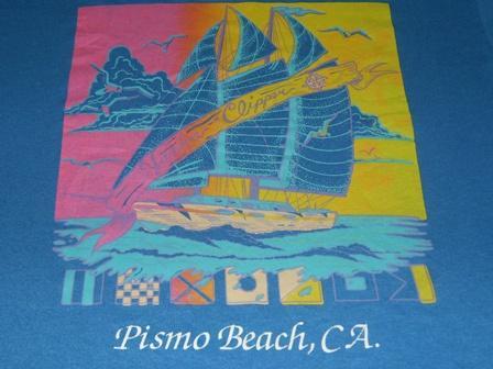 Vintage Yankee Clipper Pismo Beach California