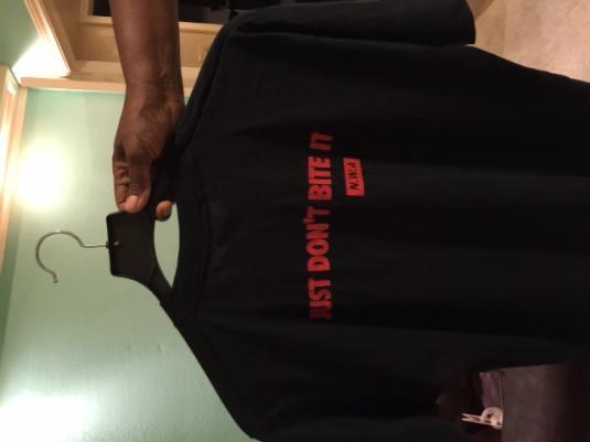 1990 N.W.A JUST DON'T BITE IT T-shirt vtg 90s hip hop NWA ra