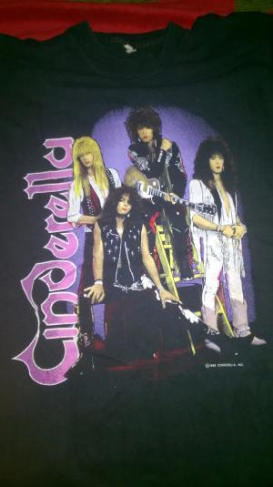 Cinderella tour shirt