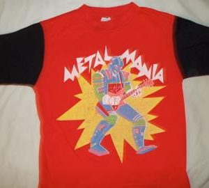 80's Metal Mania jersey shirt