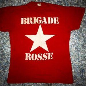 VINTAGE BRIGADE ROSSE - AS WORN BY JOE STRUMMER T-SHIRT