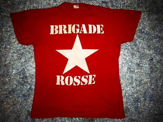 VINTAGE BRIGADE ROSSE – AS WORN BY JOE STRUMMER T-SHIRT