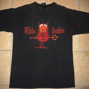 VINTAGE WHITE ZOMBIE T-SHIRT