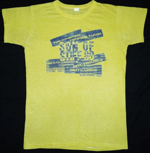 vintage 1980 STIFF RECORDS – SON OF STIFF t-shirt