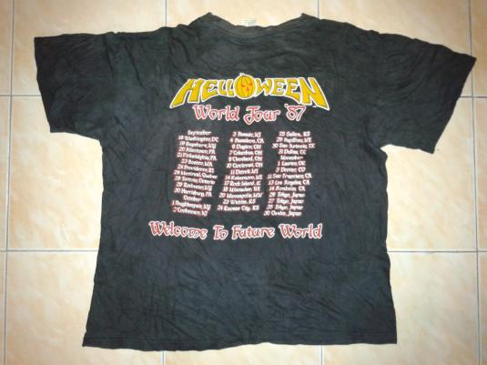 1987 HELLOWEEN – WELCOME TO THE FUTURE WORLD