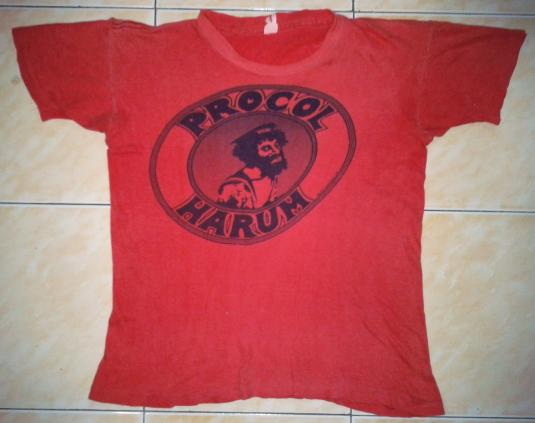 VINTAGE 1973 PROCOL HARUM T-SHIRT