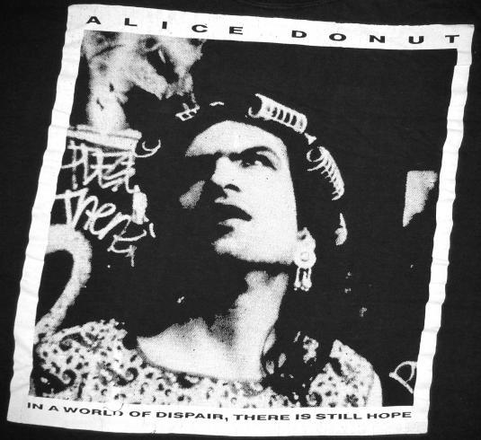 vintage 1990 Alice Donut – Mule t-shirt
