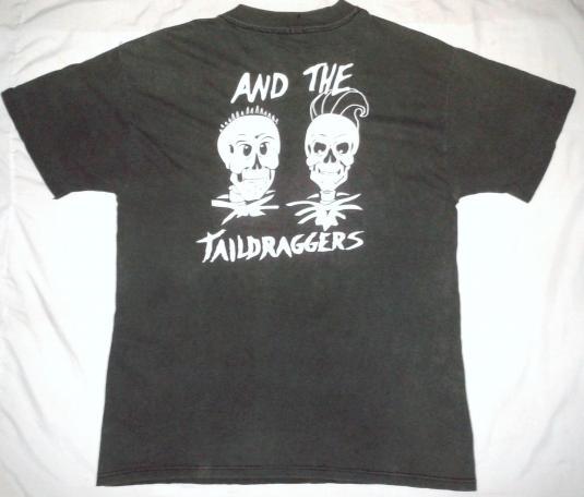 VINTAGE TOO SLIM & THE TAILDRAGGERS T-SHIRT