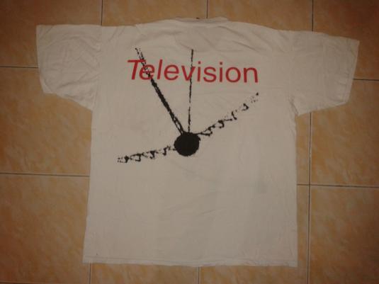 VINTAGE 1992 TELEVISION PROMO T-SHIRT