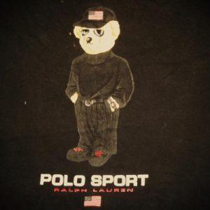 VINTAGE RALPH LAUREN POLO SPORT - EXECUTIVE BEAR T-SHIRT