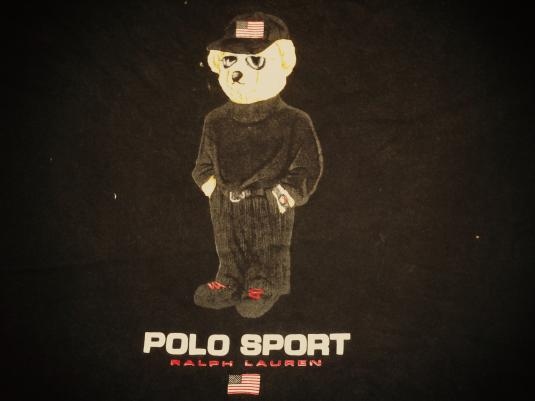 VINTAGE RALPH LAUREN POLO SPORT – EXECUTIVE BEAR T-SHIRT