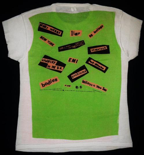 VINTAGE 1978 SEX PISTOLS WARNER BROS PROMO T-SHIRT
