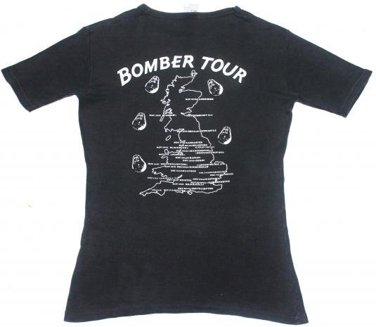 vintage 1979 MOTORHEAD – BOMBER tour t-shirt