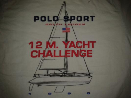 VINTAGE 1996 RALPH LAUREN POLO SPORT – YACTH T-SHIRT