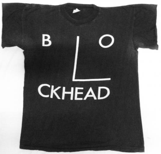 vintage 80's Blockhead t-shirt