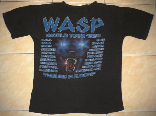 VINTAGE W.A.S.P T-SHIRT