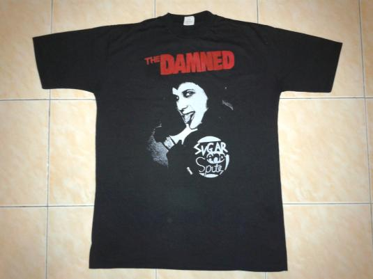 VINTAGE 1980 THE DAMNED – SUGAR AND SPITE T-SHIRT