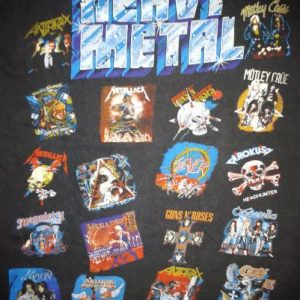 VINTAGE HEAVY METAL T-SHIRT