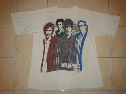 vintage 1991 THE REPLACEMENTS t-shirt