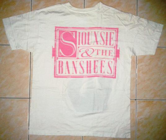 VINTAGE SIOUXSIE & THE BANSHEES – SUPERSTITION T-SHIRT