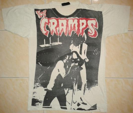 vintage THE CRAMPS T-SHIRT