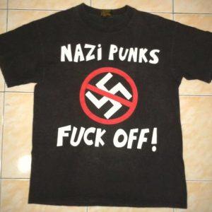 vintage DEAD KENNEDYS - NAZI PUNKS FUCK OFF T-SHIRT