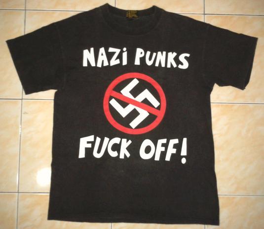 vintage DEAD KENNEDYS – NAZI PUNKS FUCK OFF T-SHIRT