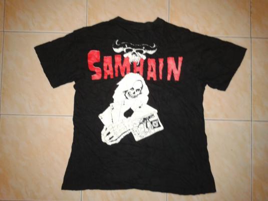 vintage 1990 SAMHAIN – INITIUM T-SHIRT