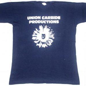 vintage 80's UNION CARBIDE PRODUCTION t-shirt