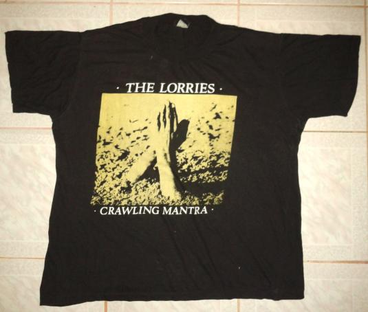 1987 THE LORRIES (RED LORRY YELLOW LORRY) – CRAWLING MANTRA
