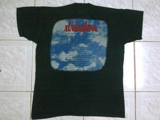 vintage 1987 THE STRANGLERS – DREAMTOUR t-shirt