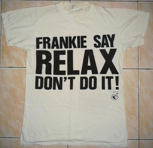 VINTAGE 1984 FRANKIE GOES TO HOLLYWOOD T-SHIRT