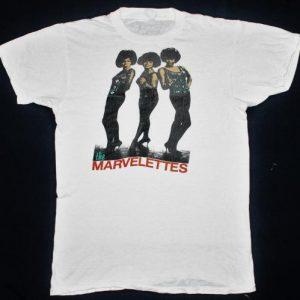 Vintage 70's The Marvelettes t-shirt