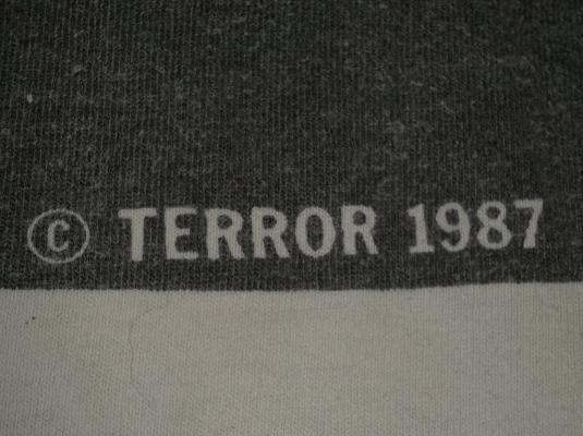 vintage 1987 KILL YOUR IDOLS T-SHIRT