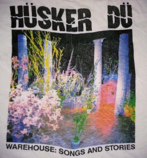VINTAGE 1987 HUSKER DU T-SHIRT