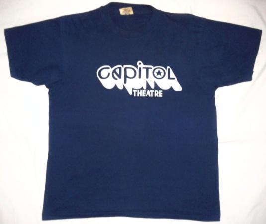 VINTAGE 70's CAPITOL THEATRE – CAPITOL RECORDS T-SHIRT