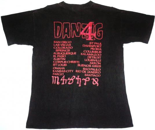 vintage Danzig – Little Whip t-shirt