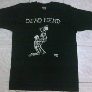 VINTAGE DEAD HEAD (BLOW JOB) FASHION VICTIM T-SHIRT